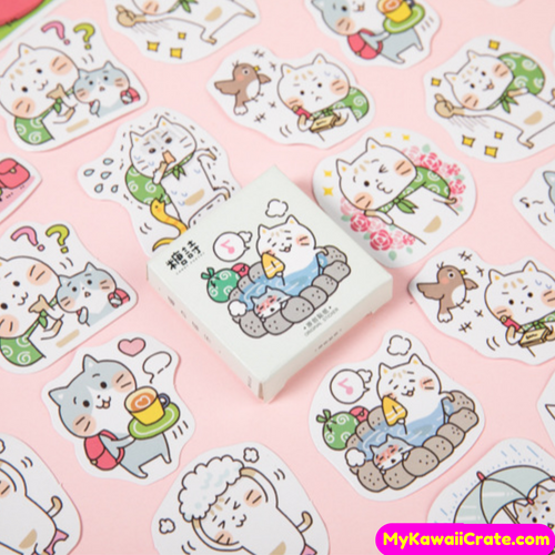 Cartoon Cat Stickers