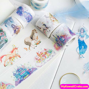 The Last Fairy Tale Loulan Girl Washi Tape / Masking Tape