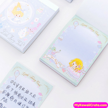 Mermaid Princess Castle Fairy Unicorn Mini Notepad