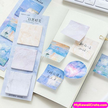 Ticket Nature Floral Scenery Sticky Notes