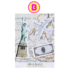 Travel New York England Passport Plane Sticky Notes Memo