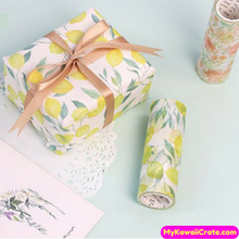 Tropical Forest & European Retro Wide Washi Tape / Masking Tape
