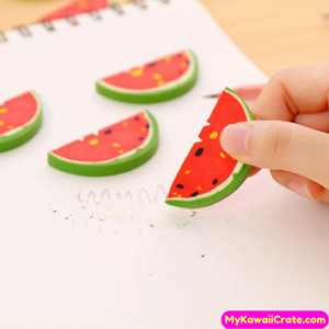 Watermelon Fruit Pencil Eraser