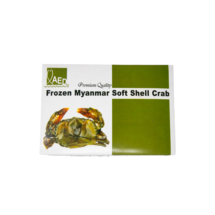 Frozen Premium Myanmar Soft Shell Crabs <br> 10只缅甸特级软壳蟹 (Whale Size, 10 Pcs)