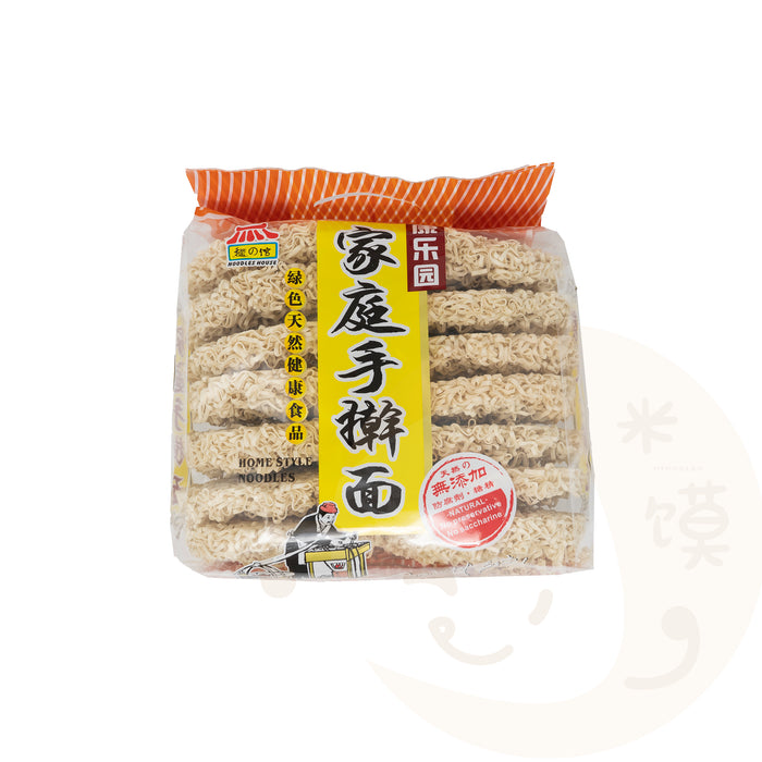 Dried Noodles (Home Style) 家庭手擀面 (非油炸方便面, 王子面)