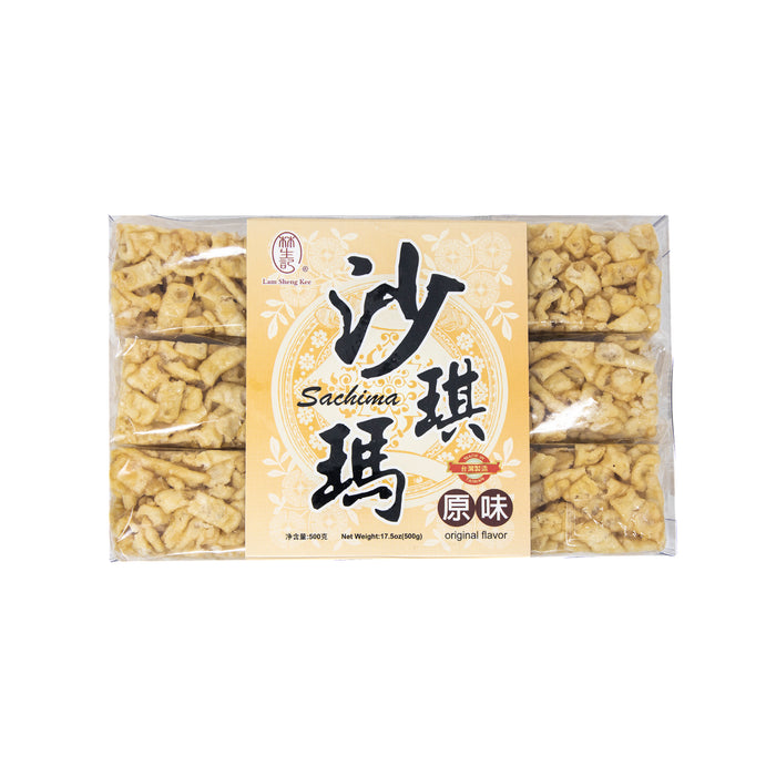 Caramel Treats Sachima Chinese Snack <br> 台湾原味沙琪玛