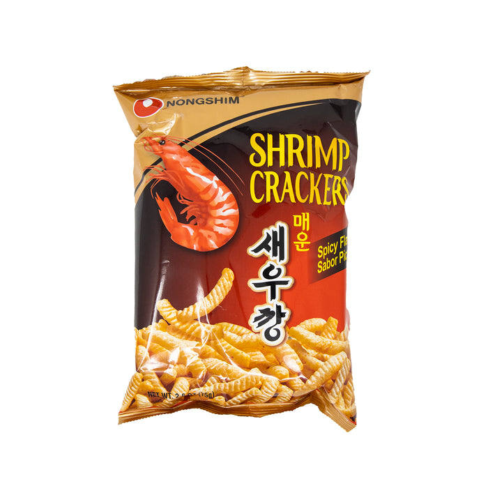 Nongshim Shrimp Crackers (Spicy Flavor) <br> 农心辣味虾条