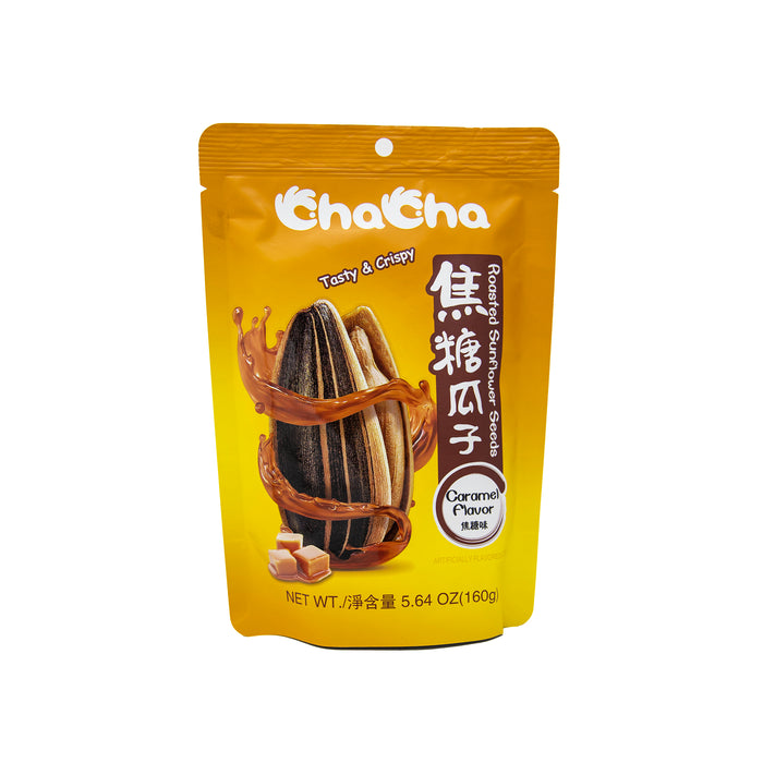 Cha Cha Roasted Sunflower Seeds (Caramel Flavor) <br> 洽洽焦糖瓜子