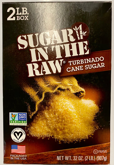 Sugar In The Raw Turbinado Cane Sugar (2 lb) <br>  刀切蔗糖原糖 (2磅)
