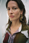Spirit big horn earrings