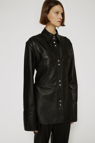 Gorges Leather Shirt