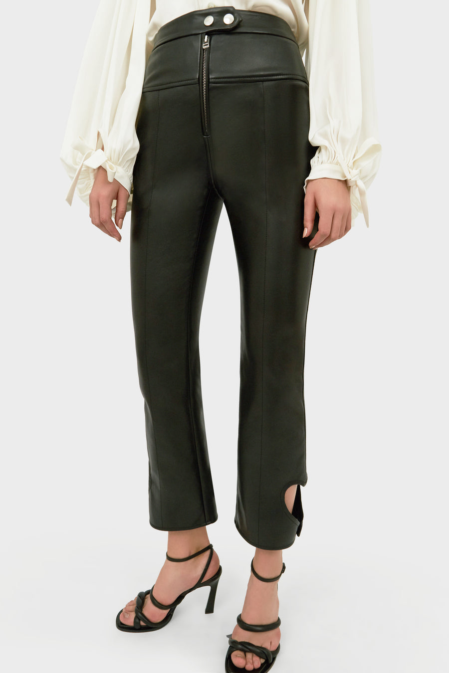 JICAS STRAIGHT PANT WITH LOVEHEART DETAIL