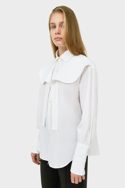 ICARO BUTTON UP SHIRT WITH FRILL YPKE