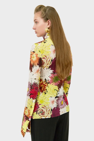 SALA HIGH NECK BLOUSE