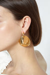 Astronomic breast earrings