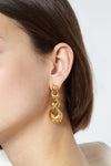 Athenes small degrade earrings