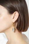 Constantin small horn earrings