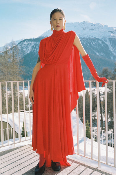 Dolomith Cape Dress