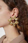 Erato Flower Earrings