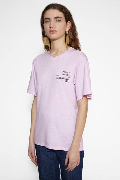 Pink Naked Island T-shirt
