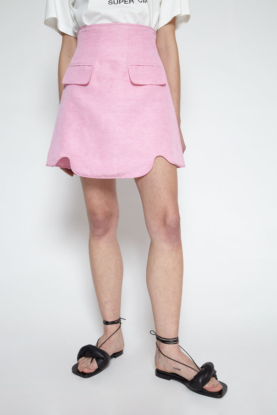 Pure Reason high waisted mini skirt