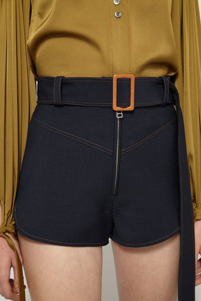 Monumental Yoke Detail Short