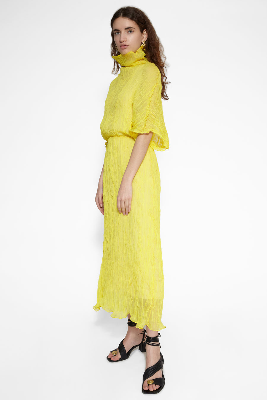 Yellow Santorini Dress