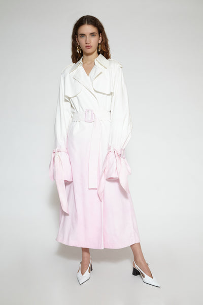 Stereo Audio Pink Ombre Trench
