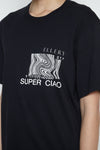 Black Super Ciao T-shirt