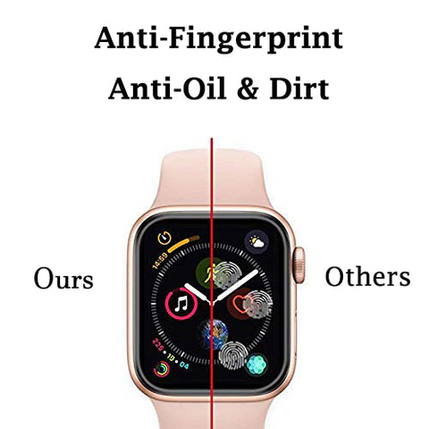 Apple watch serie 4 40mm 44mm screen protector anti scratch anti fingerpritn tempered glass screen protector film iMartCity anti fingerprint anti oils stain