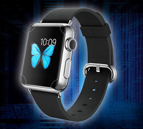 Apple Watch Series Protective Films COMBO GadgetiCloud iWatch 9h tempered 3D glass protective case anti scratch zagg skinomi belkin spigen apple watch screen protector apple watch belts apple watch iq shield Apple Watch Accessories 38mm 42mm 40mm 44mm蘋果手錶保護貼 Apple watch保護貼