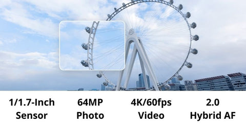 DJI-Pocket-2-Creator-Combo-Action-camera-content-feature-Excellent-64MP-Images-High-Quality