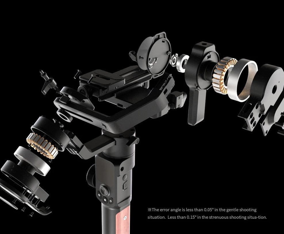 Feiyu AK2000S Gimbal Camera Stabilizer handheld three-exis for video mirrorless DSLR cameras stable