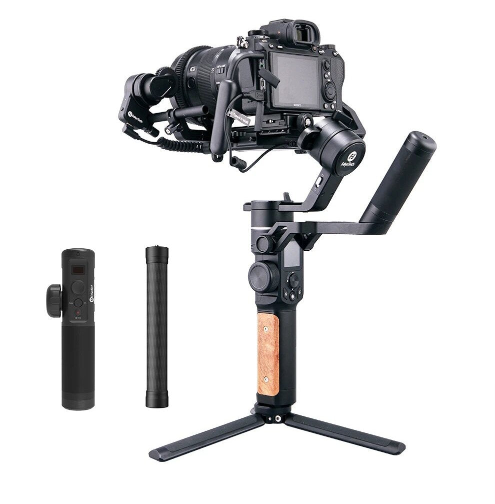 Feiyu AK2000S Gimbal Camera Stabilizer handheld three-exis for video mirrorless DSLR cameras support more accessories