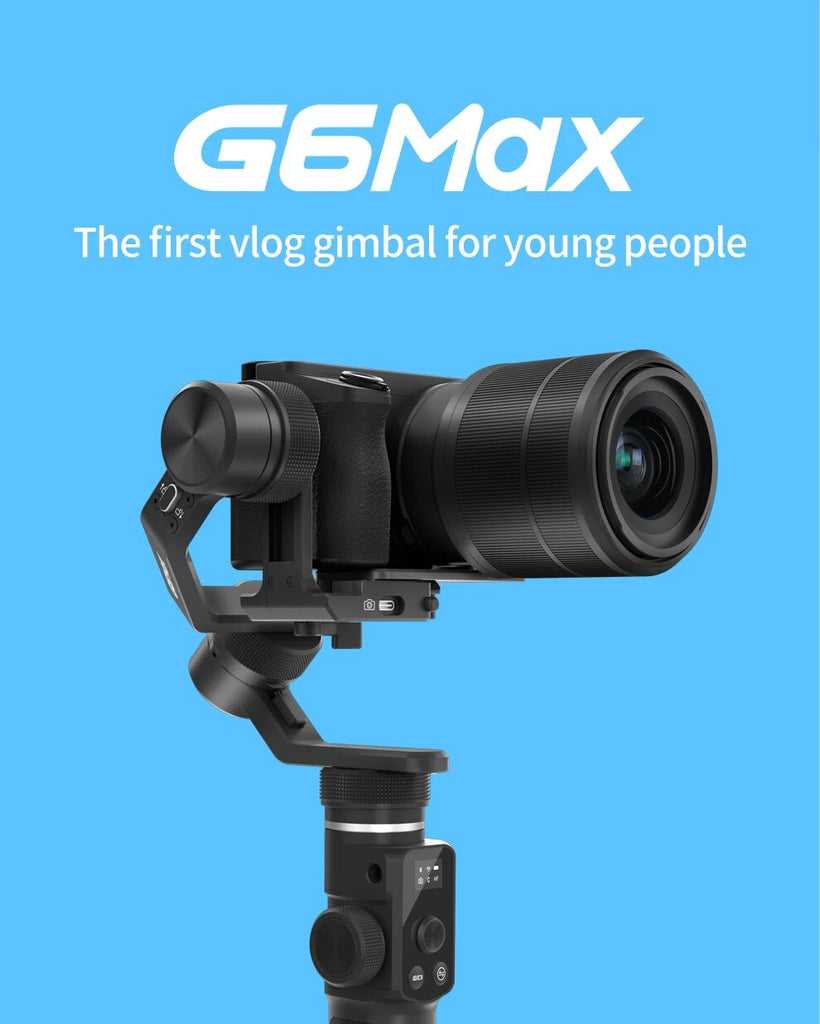 FeiyuTech G6 Max 3-Axis USB Wi-Fi Control Stabilized Handheld Gimbal for smartphone pocket camera action camera mirrorless cameras cover
