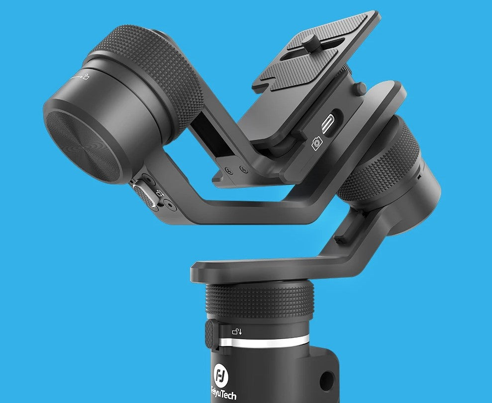 FeiyuTech G6 Max 3-Axis USB Wi-Fi Control Stabilized Handheld Gimbal for smartphone pocket camera action camera mirrorless cameras scientifically designed for comfortable experience