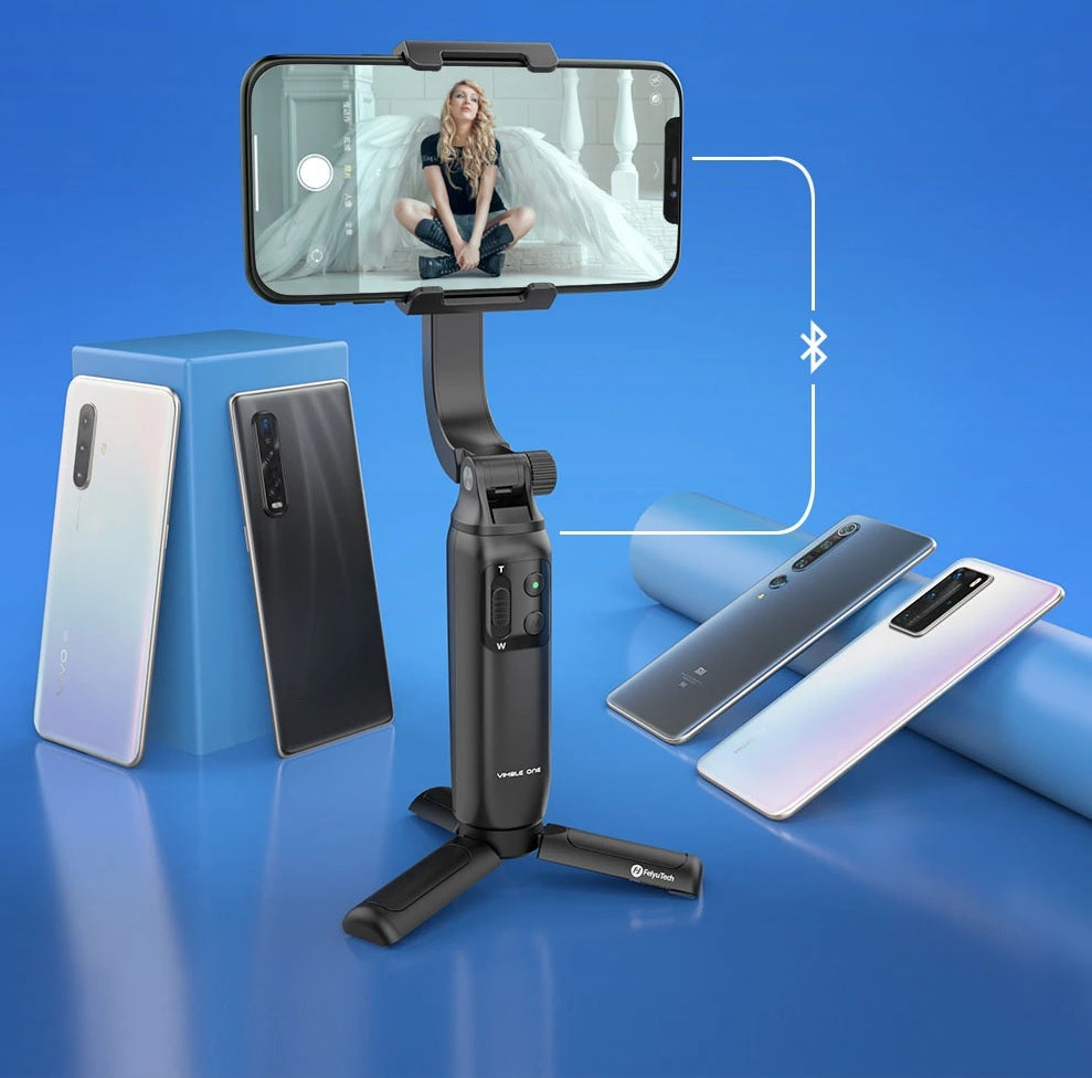 stream source FeiyuTech-Vimble-One-Single-Axis-Smartphone-Gimbal-Stabilizer Easy Recording