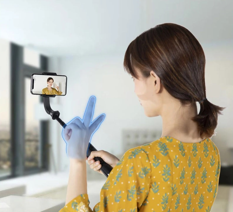 stream source FeiyuTech-Vimble-One-Single-Axis-Smartphone-Gimbal-Stabilizer Gesture Control Camera Shooting
