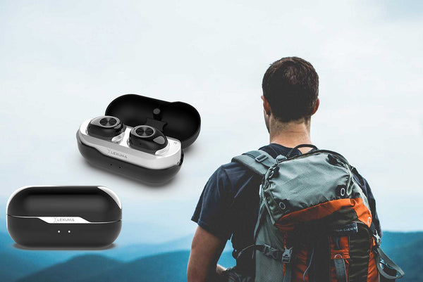 Lexuma XBud LE-701 True Wireless In-Ear Bluetooth Sports Earbud bragi the headphone best wireless earbuds for working out running airpod alternatives bose beats running headphones nuheara iqbuds tws i7 earphones instructions stereo headset 無線耳機 真無線耳機 Cableless sweatproof - GadgetiCloud 無線耳機 真無線耳機 藍牙耳機