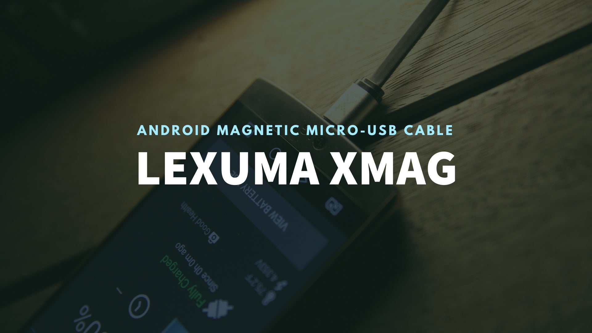 GadgetiCloud Lexuma 辣數碼 XMag Magnetic Charging Cable micro-usb cable
