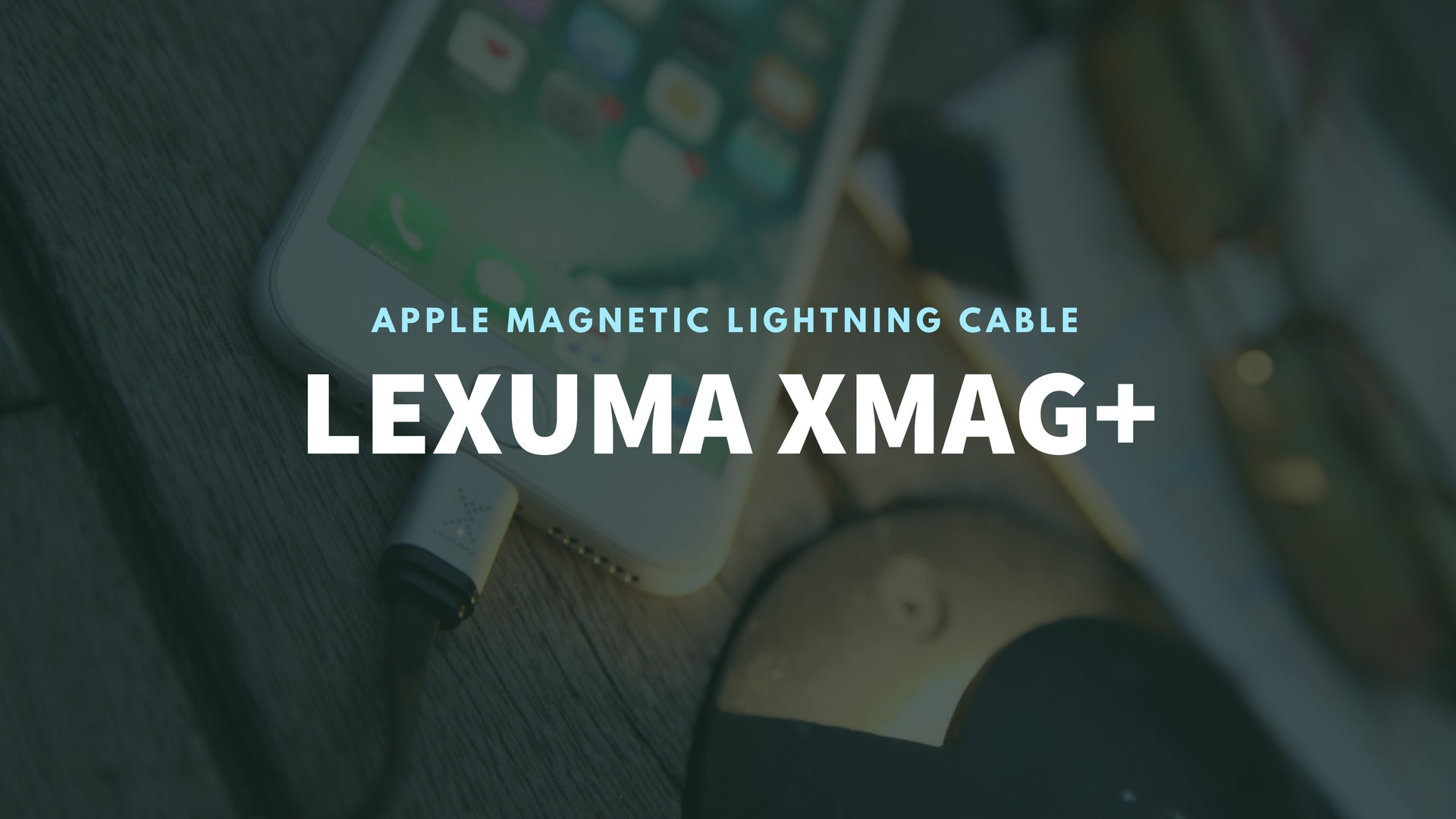 Lexuma 辣數碼 XMag Magnetic Charging Cable lightning cable
