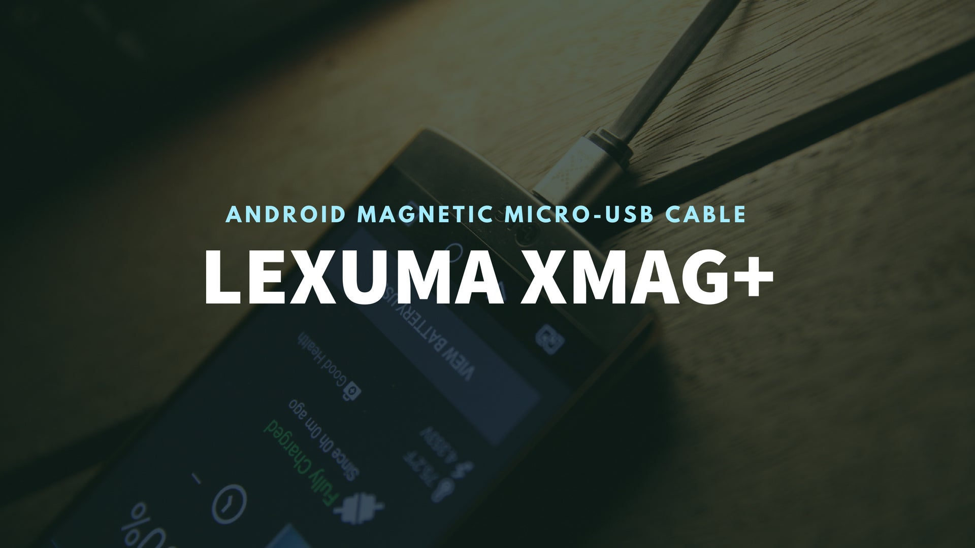Lexuma 辣數碼 XMag Magnetic Charging Cable micro-usb cabl