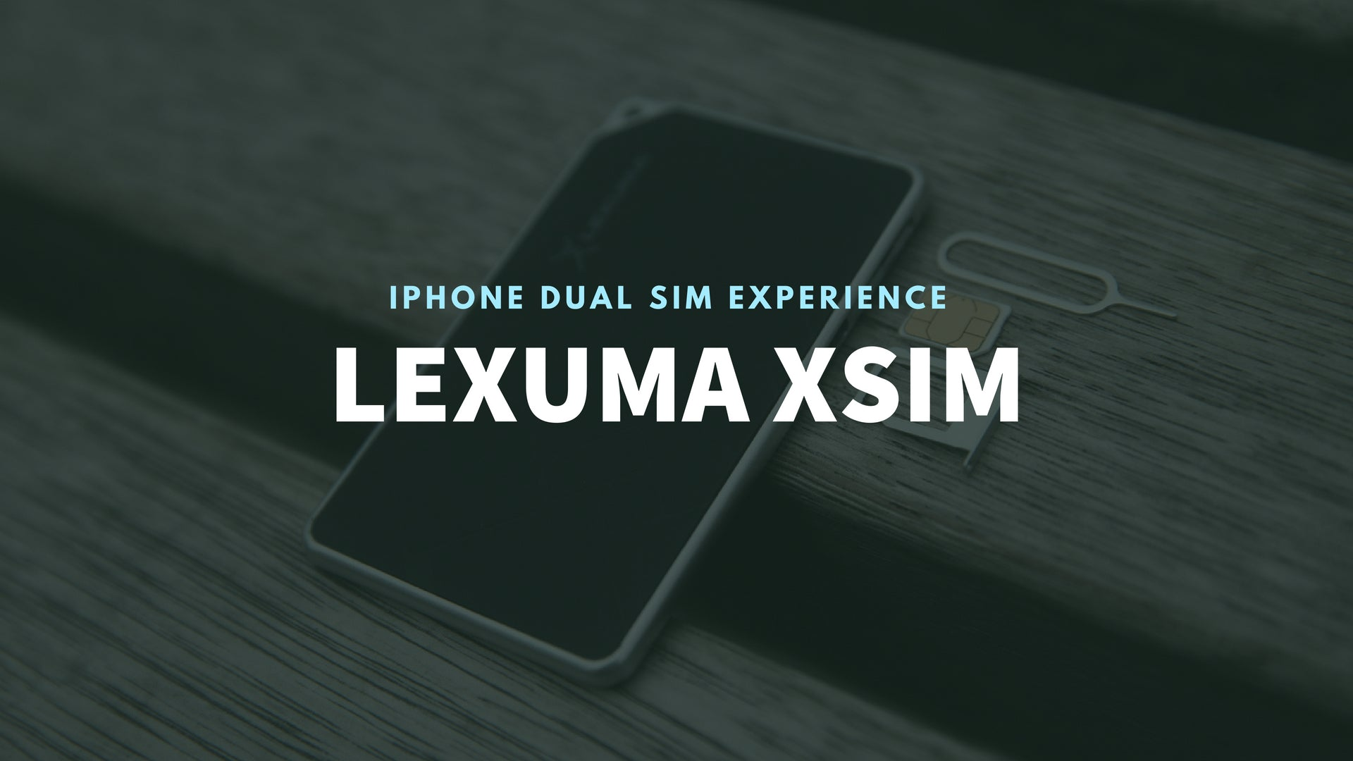 Lexuma 辣數碼 XSIM XDS-1220 – Portable Wireless Bluetooth iPhone Extension Dual SIM Adapter banner review