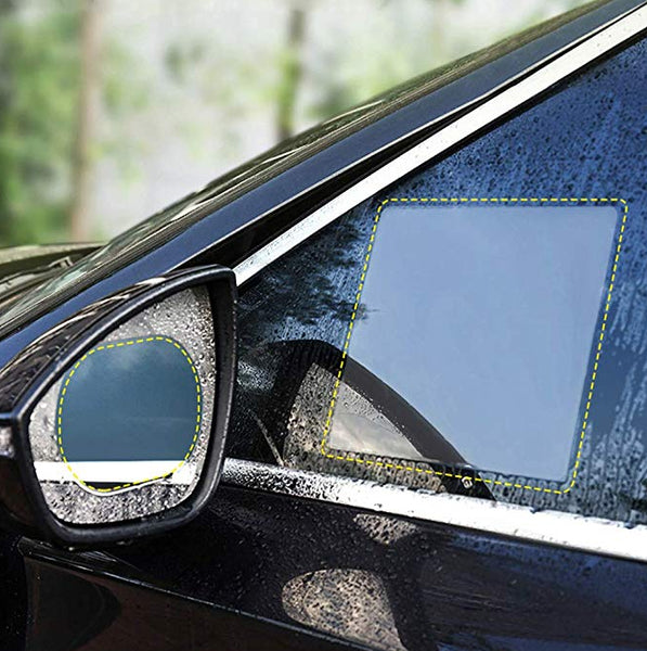 Rainproof hydrophobic protective film for side window - GadgetiCloud rainproof water resistant