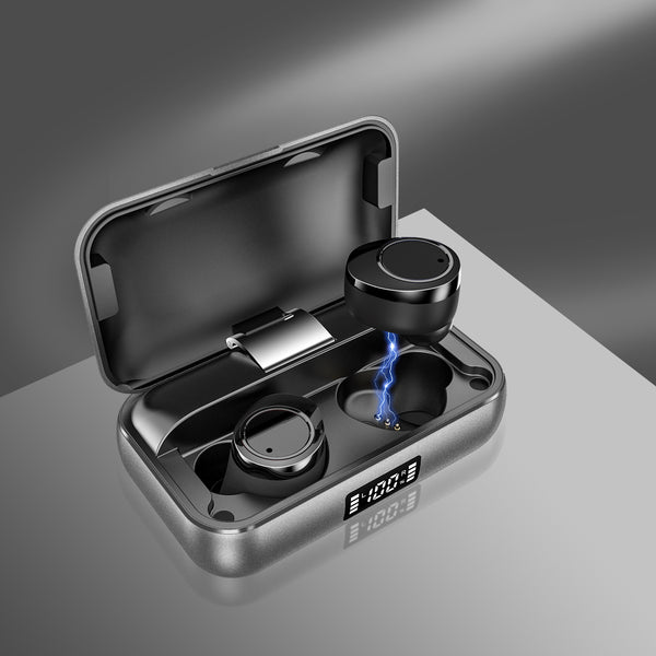 GadgetiCloud Lexuma Xbud-X true wireless in-ear earbuds wireless earphones headphones bluetooth 5 charging case ultra large battery capacity auto pairing 辣數碼 真無線藍牙耳機 連充電盒 LED battery indicator