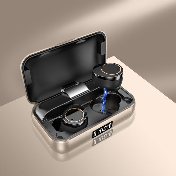 GadgetiCloud Lexuma Xbud-X true wireless in-ear earbuds wireless earphones headphones bluetooth 5 charging case ultra large battery capacity auto pairing 7hours of music time waterproof 辣數碼 真無線藍牙耳機 連充電盒