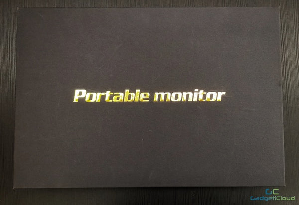 Lexuma xscreen portable monitor with touch screen unboxing front cover
