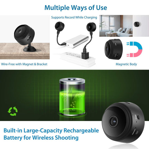 Lexuma 辣數碼 XCAM SEC-C120 Mini 1080P Wireless Night Vision Home Security Camera with 150° Wide-Angle Lens wifi connection for mobile phone hidden outdoor invisible Smart HD IP cam ime2s remote cheap surveillance cameras for home nanny Tiny Covert Cam small axis f1004 cookycam 360 ip camera large battery multiple ways