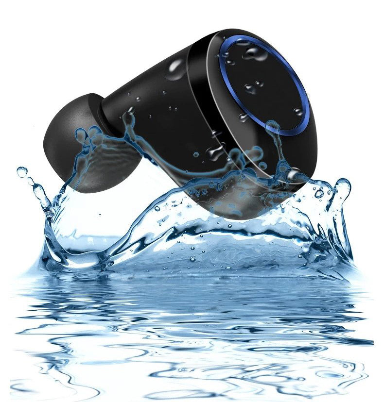 Lexuma XBud-Z True wireless earbuds IPX7 international protection which perfectly protected from water and sweat