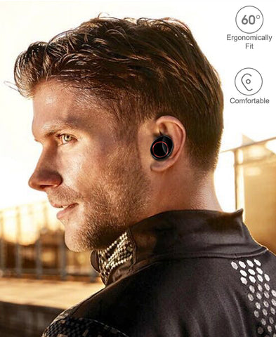 Lexuma XBud-Z True wireless earbuds in-ear design ergonomically fits your ears